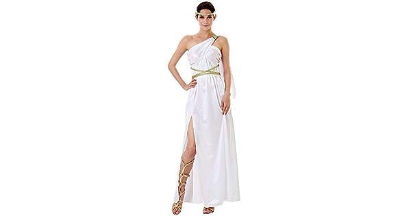 Amazon.com: Disfraz de diosa griega de lujo para mujer ...