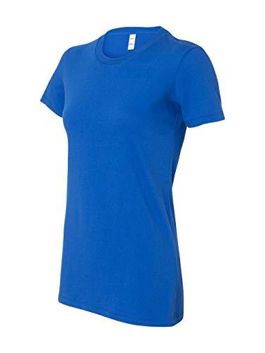 (Bella womens The Favorite T-Shirt(6004)-TRUE ROYAL-XL)