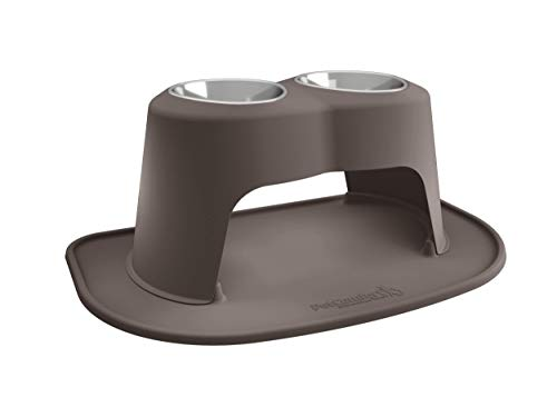 PetComfort Double High Feeding System with XL Mat (14