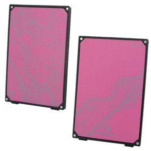 Targus Ultra-Compact Pink Flat Panel Stereo Speaker System (AEM0807X) ()
