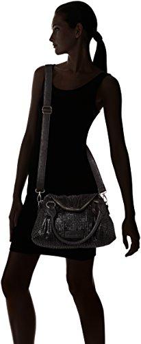 Fritzi aus Preußen Desiree - Bolso de hombro Mujer Negro (Black)