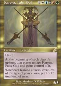 - Magic: the Gathering - Karona, False God - Scourge