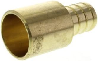 "5//8/"" PEX x 3//4/"" Male Sweat Adapters Brass Crimp Fittings 25"