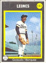 1973 Made in Venezuela Stickers (Baseball) Card# 143 Gonzalo ...