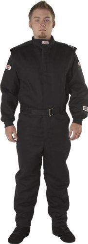 G-Force 4525XXLBK GF 525 Black XX-Large Multi-Layer Racing Suit by G-FORCE Racing Gear