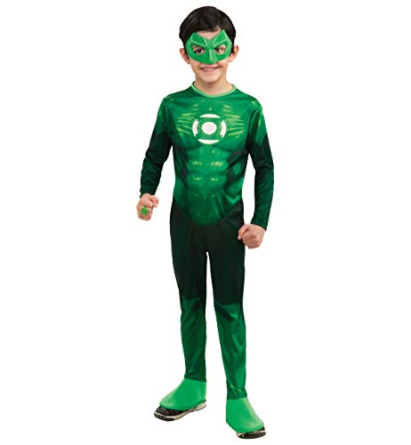 Boys Light-Up Hal Jordan Costume - Green Lantern - Large -