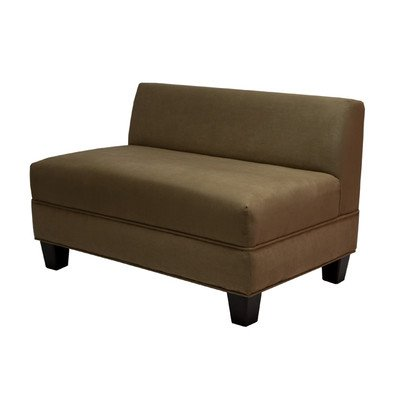 Makenzie Settee Loveseat Color: Khaki