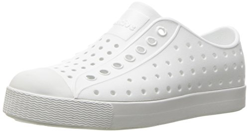 101 Shell - Native Unisex-baby Jefferson Water Proof Shoes, Shell White/Shell White, 8 Medium US Toddler