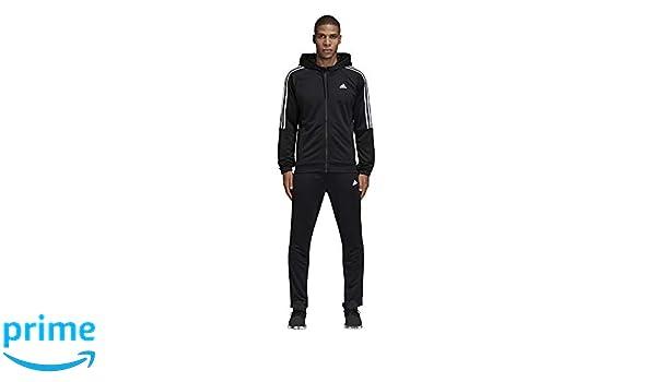 adidas Re-Focus TS - Chándal para Hombre, Color Negro y Blanco ...