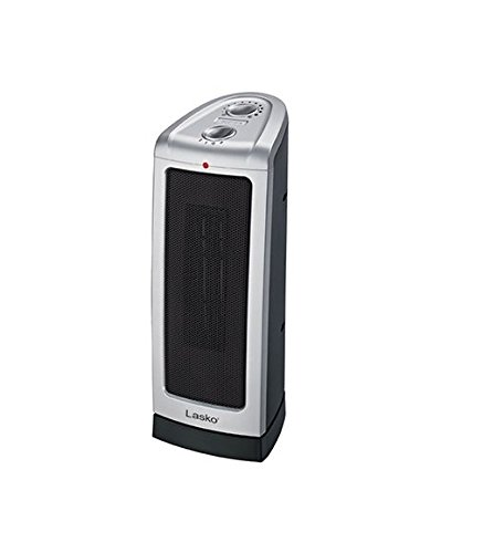 Lasko Products # 5307 Oscillating Ceramic Electric Tower Heater - Quantity of 2 Ceramic Heaters