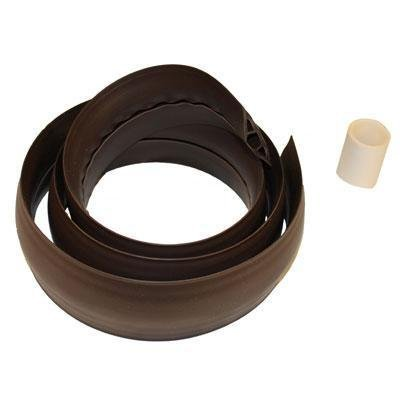 On-Q/Legrand Corduct 50' Overfloor Cord Protector, Brown ''Product Category: Cables Computer & Av/Connectors & Cable Management''
