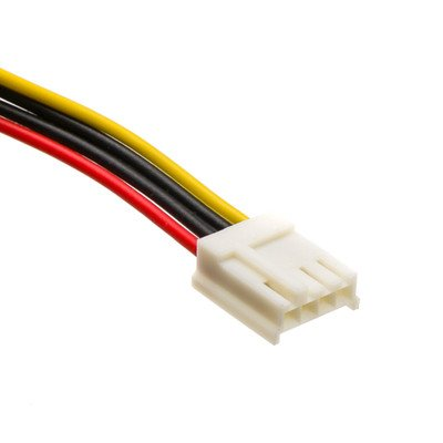 6 inch, 4 Pin Molex to Floppy, Power Cable ( 100 PACK ) BY NETCNA by NETCNA (Image #1)