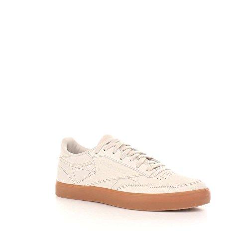 Club FVS C Beige PS 85 Reebok Desert Femme Sneakers Basses Adqcvf
