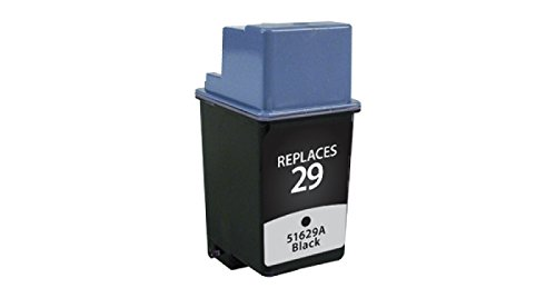 Inksters Remanufactured Ink Cartridge Replacement for HP 29A Black, 51629A (HP 29)