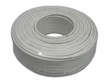 Marcas de cable coaxial 98 db, 100 m [Electrónica]: Amazon.es ...