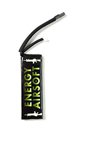 ENERGY AIRSOFT Solo 5 Batterie Mixte Adulte, Noir/Vert ENF4E|#Energy Airsoft