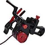 Ripcord Technologies Ace Micro Archery Rest, Red, Left Hand
