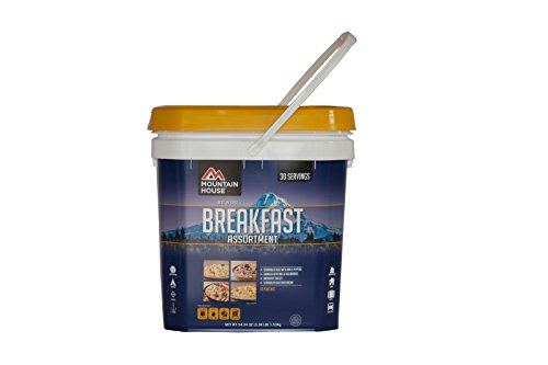 Breakfast Kit (Mountain House Just In Case...Breakfast Bucket)