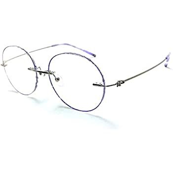 eac9e1a9d7 Amazon.com  Steve s Totally Round Rimless Unisex Men and Women ...