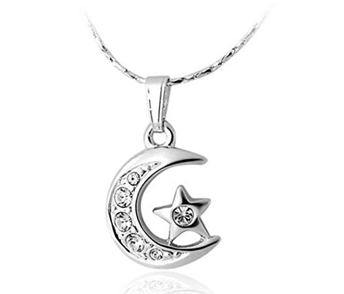 rigant-18k-rgp-alloy-moon-star-pendant-necklace-white-gold