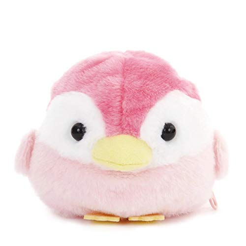 "Amuse Kotori Tai/"" 4.7/"" Convertible Egg to Bird Plush Stuffed Animal Toy Keychain"