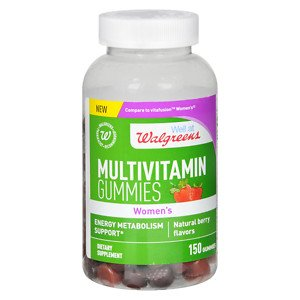 Walgreens Womens Multivitamin Gummies, Berry, ...