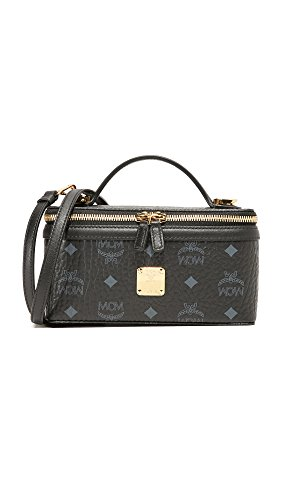 Body Bag Black MCM Box Cross Women's wAxSqBgYT