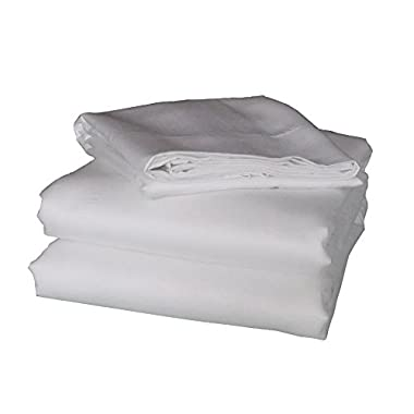 Irisilk 100% Rayon from Bamboo Sateen Sheet Set - Queen Size White