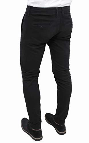Homme Evoga 48 Noir Pantalon Bleu qqtCW57wrf
