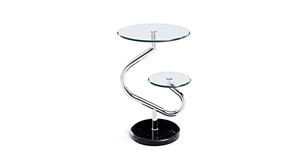 Amazon.com: TQ Tables Simple Moderno Mármol Café Vidrio ...