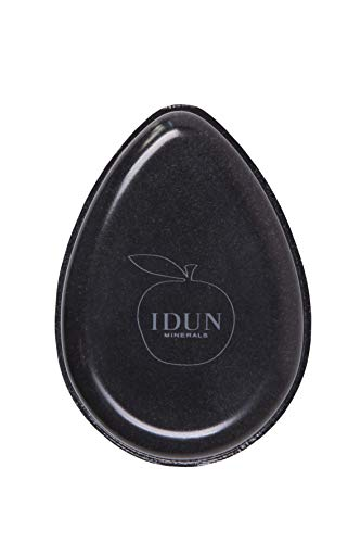 IDUN Minerals Dual Makeup Sponge - Silicone Side For Primer Application - Blotting Side Removes Excess Oil During the Day - 2-in-1 Perfect Touchup Tool - Easy to Clean