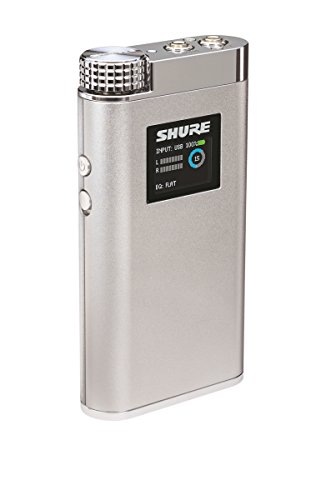 - Shure SHA900 Portable Listening Amplifier with USB DAC and Customizable EQ Control