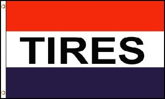 tires flag flags super