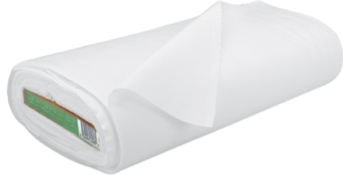 Rockland 200 Count Muslin, 44/45-Inch, Bleached/White