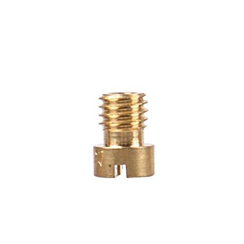 Nibbi Motorcycle Carburetor Main Nozzle Power Jet Slow Jet Main Injectors Nozzle Engine Applicable (112# main jet for ()