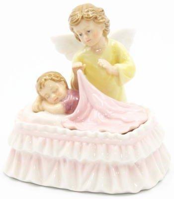 激安超安値 ポーセリン天使 B071KTG8WQ オルゴール/ 赤ちゃんを寝かしつけるエンジェル ポーセリン天使 オルゴール B071KTG8WQ, AZnet:3f2a2780 --- arcego.dominiotemporario.com