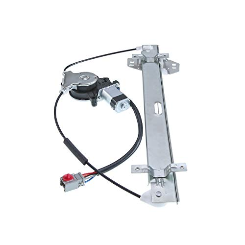 Front Left Driver Side Power Window Regulator with Motor for 2003-2010 Honda Element