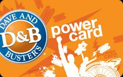 Amazon.com : Dave and Busters (D&B) Power Card with 200 Game ...