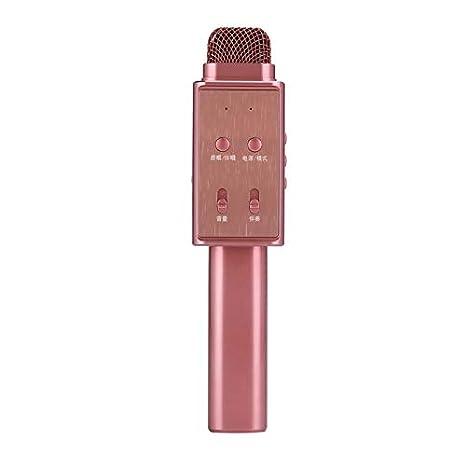 Wewoo Micro inalámbrico Oro Rosa Ordenador portátil, PC, Altavoz, Auriculares, iPad,