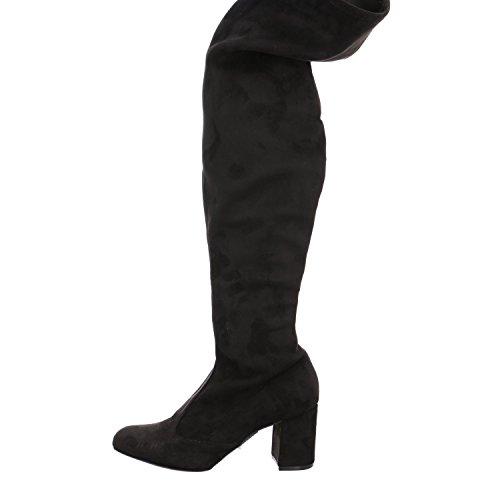 ESPRIT Birgy Overknee, Botas para Mujer Negro (Black)