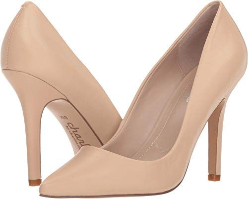 CHARLES BY CHARLES DAVID Women's Sweetness Nude Leather 7.5 B US