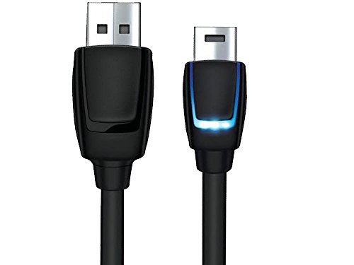 dreamGEAR – PS4 LED Charge Cable for DualShock4 Controllers – LEDs Indicate When Charging and Charged