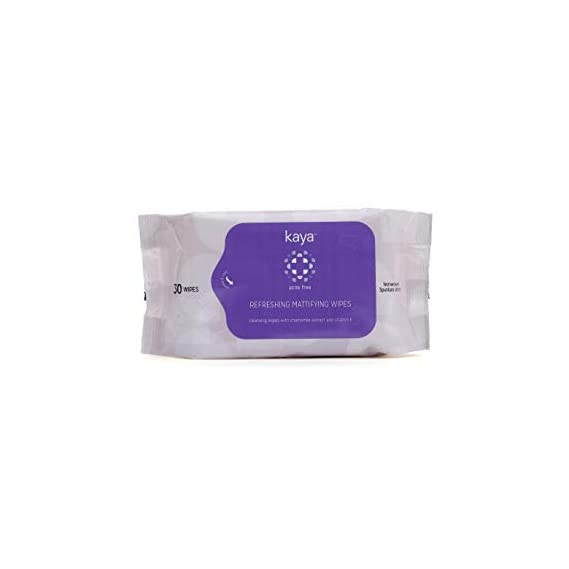 Kaya Skin Clinic Refreshing Mattifying Wipes, 30ml
