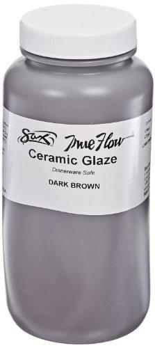 (Sax True Flow Gloss Glaze, Dark Brown, 1)