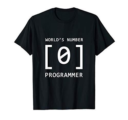 - World's # 0 Programmer - Funny Developer Tshirt