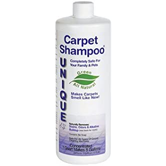 CARPET SHAMPOO QUART by UNIQUE MfrPartNo 221-3