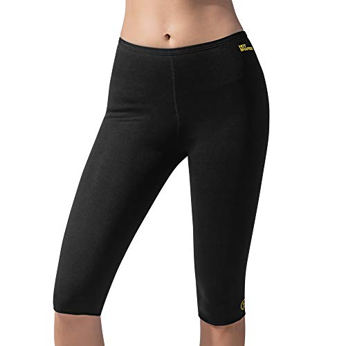 9df3b022e589b1 Hot Shapers Capri Pants - Yoga and Exercise Compression Leggings - Suit for  Women's Workouts - Thermo Tights That Enhance Sweat, Weight Loss and Body  ...