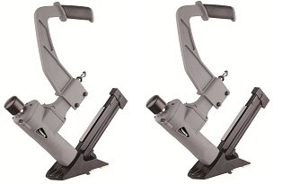 NuMax SFL618 3-in-1 Pneumatic Flooring Stapler/Nailer with White Rubber Mallet (2-(Pack))
