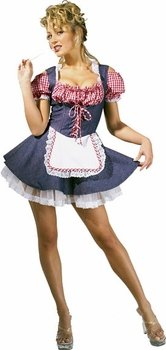 Farmer's Daughter Costume (Farmers Daughter Costume - Small - Dress Size 6-8)