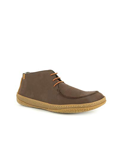 Brown N5385 Bottines Naturalista amazonas El Homme Pleasant Lacets Brun avOwtH